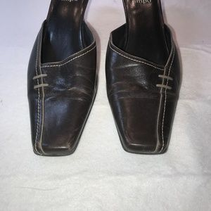 Impo Shoes - IMPO, BROWN SLIP ONS, SIZE 10